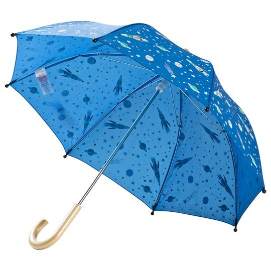 Hatley Athletic Astronauts Umbrella Blue