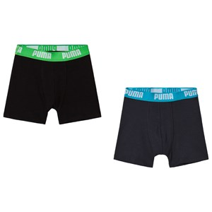 Image of Puma Basic Boxer India Ink/Turquoise 146/152 cm (3056107581)