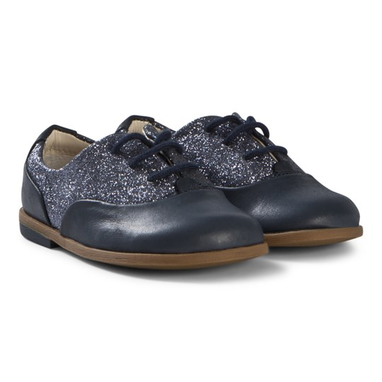 Clarks Drew Wow Shoes Navy Combi Navy Combi
