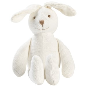 Image of STOY White Rabbit Soft Toy One Size (995162)