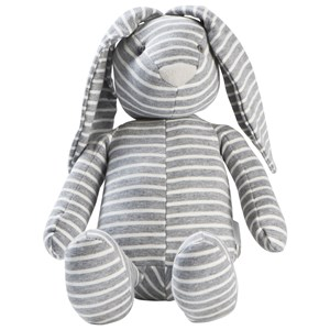 Image of STOY Grey Stripes Rabbit Soft Toy (3056055319)