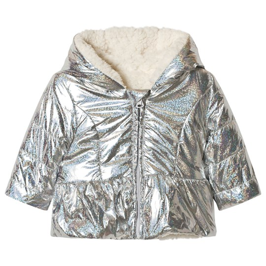 Catimini Silver Reversible Coat 18