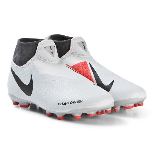 NIKE Grey Phantom Vision Academy Dynamic Fit MG Football Boots 060