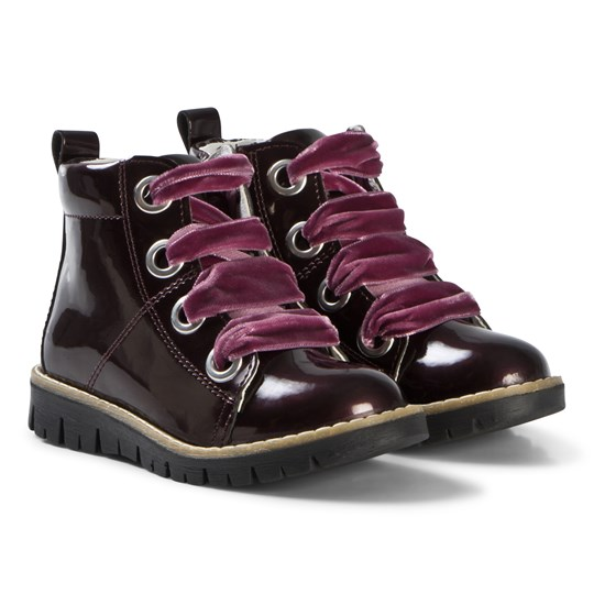 Primigi Velvet Lace Boot Purple MOSTO