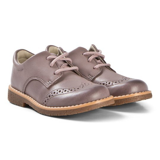 Clarks Comet Heath Shoes Pink Leather PINK LEATHER