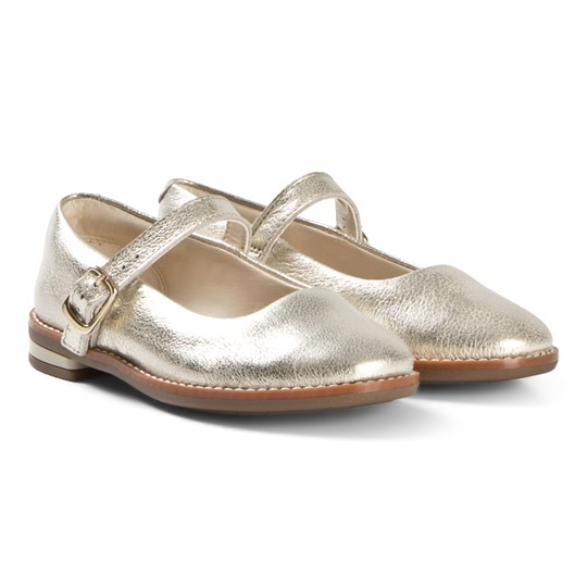 Clarks Drew Sky Shoes Gold Metallic GOLD METALLIC