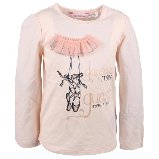 Guess LS T-shirt Bright Pink Mini Pink