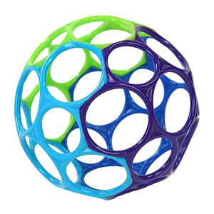 Image of Oball Oball™ Classic™ Ball Green/Purple/Blue 0 - 3 år (3125233275)