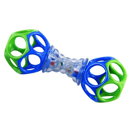 Oball Shaker™ Toy Green/Blue Green