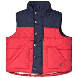 Tom Joule Red Matchday Padded Gilet