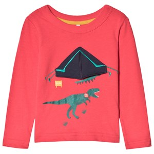 Image of Tom Joule Dinosaur T-shirt Rød 1 year (1134563)