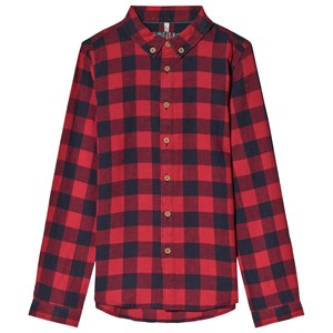 Image of Tom Joule Red Sark Gingham Shirt 1 year (3056082121)