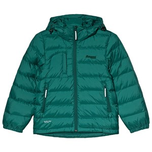 Image of Bergans Green Down Youth Puffer Jacket 128 cm (7-8 år) (1196330)