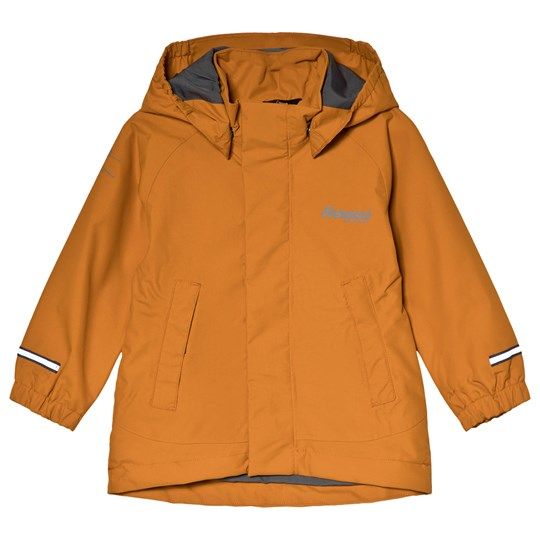 Bergans Orange Knatten Kids Waterproof Jacket 11512