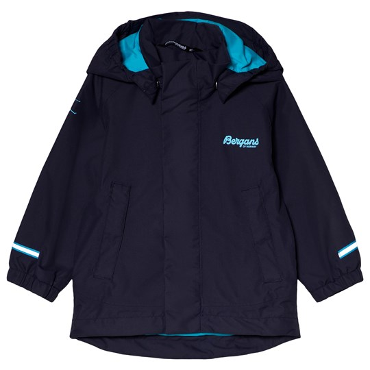 Bergans Navy Knatten Kids Waterproof Jacket 10507