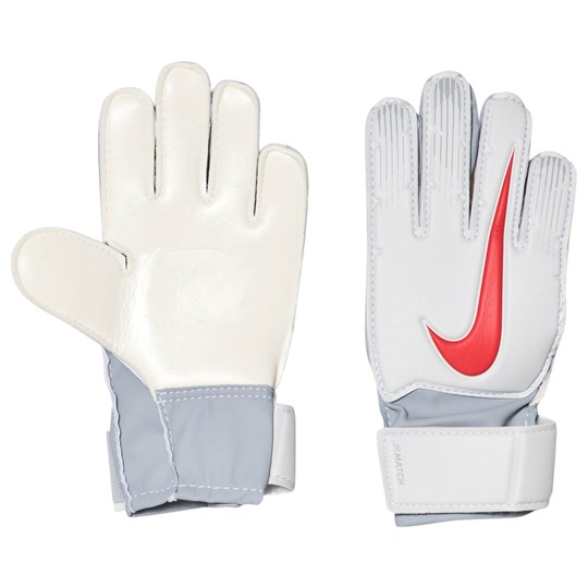 NIKE Silver Match Goalkeeper Gloves 043