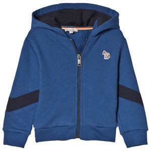Paul Smith Junior Blue Zebra Badge Hoodie 2 years