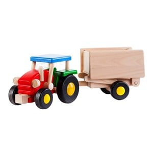 Image of Bajo Tractor With Wagon - Large (2946989455)