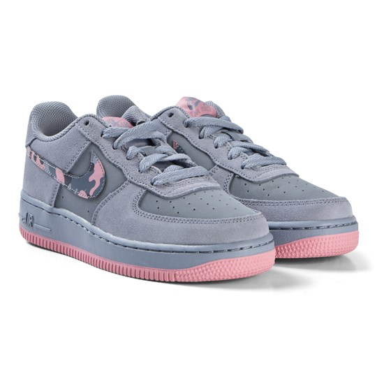 NIKE Purple Air Force 1 Shoe 408