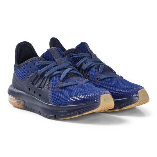 NIKE Blue Air Max Sequent 3 Running Shoes