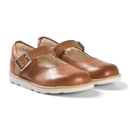 Clarks Crown Honor Shoes Tan Leather Tan Leather