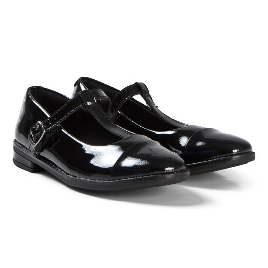 Clarks Drew Shine Shoes Black Patent Leather Black Pat Lea