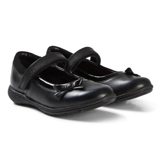 Clarks Venture Star Shoes Black Leather Black Leather