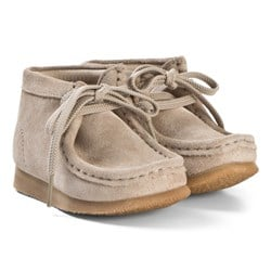 Clarks Wallabee Boots Sand Suede