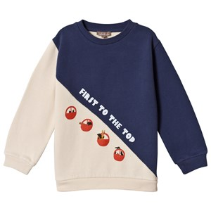 Image of Emile et Ida First to the Top Sweatshirt Bicolore 2 år (3056105351)