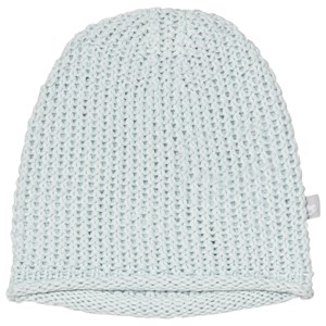Image of The Little Tailor Blue Bobble Stitch Knitted Beanie 0-6 months (3056112099)