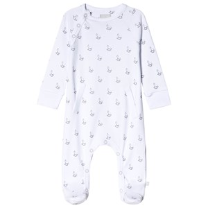 Image of The Little Tailor White Rocking Horse Footed Baby Body 3-6 months (3056112199)