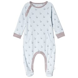 The Little Tailor Blue Rocking Horse Footed Baby Body