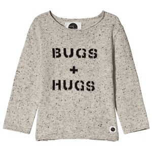 Image of Sproet & Sprout Bugs & Hugs Knit Sweater Grey 110-116 (5-6 years) (3056086349)