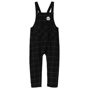 Image of Sproet & Sprout Check Overalls Forest Green/Black 110-116 (5-6 years) (3056086375)
