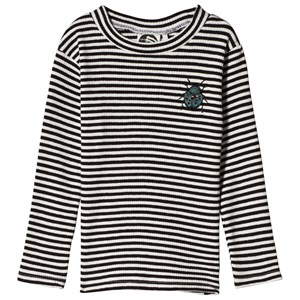 Image of Sproet & Sprout Beetle Striped Top Black/White 134-140 (9-10 years) (3056086395)