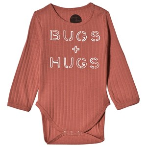 Image of Sproet & Sprout Bugs & Hugs Baby Body Cedar 50-56 (0-3 months) (3056086401)