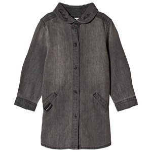 Image of Sproet & Sprout Denim Shirt Dress Washed Grey 110-116 (5-6 years) (3065528283)