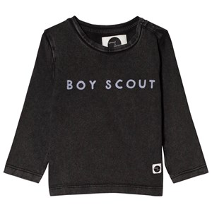 Image of Sproet & Sprout Boy Scout Tee Washed Black 122-128 (7-8 years) (3056086433)