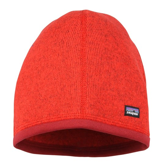 Patagonia Kids Better Sweater Hat Red Red