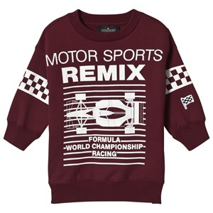 Image of Little Remix Lewis Motor Sweatshirt Burgundy 8 år (1138216)