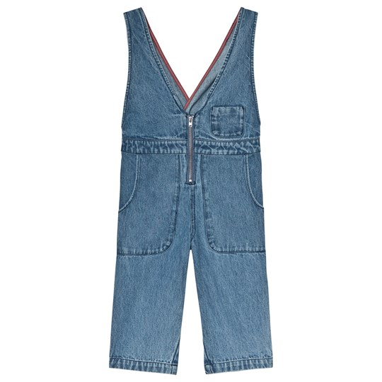 Wynken Denim Dance Overalls Bleached Denim