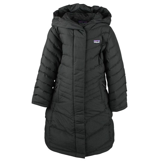 Patagonia Girls Down Coat Black Black