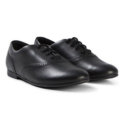 Clarks Jules Walk Shoes Black Leather