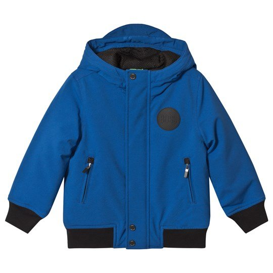 BOSS Royal Blue Hooded Jacket 871