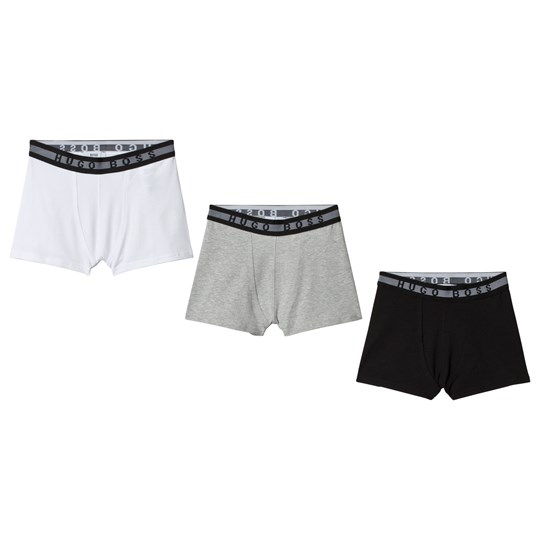 BOSS White, Grey and Black Boxers 3-Pack 09B
