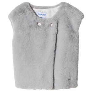 Image of Mayoral Grey Faux Fur Gilet 36 months (3056091269)
