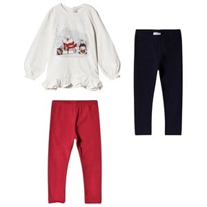 Image of Mayoral Red Leggings and Tee Set 12 months (3056091465)
