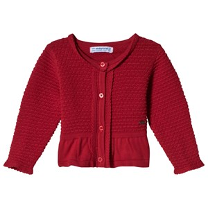 Image of Mayoral Red Knitted Cardigan 36 months (3056091603)