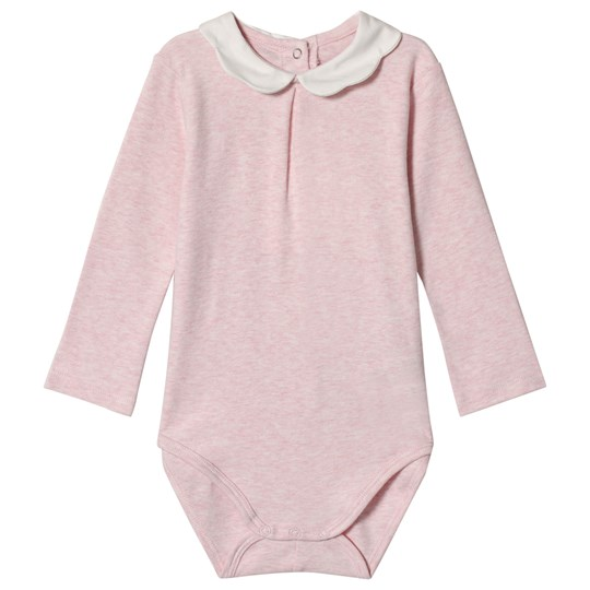 Mayoral Pink Marl Baby Body with Scalloped Collar 39
