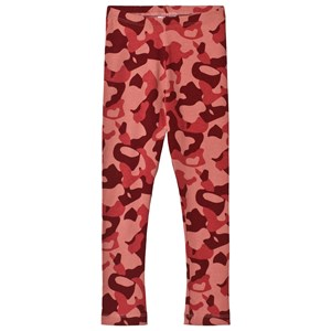 Image of Wynken Animal Camo Leggings Red 10-11 years (3056072199)